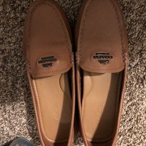 Leather Coach Loafers